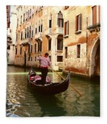 The Gondolier Fleece Blanket