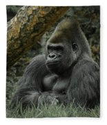 The Gorilla 3 Fleece Blanket