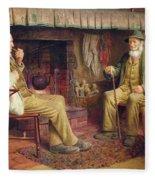 The Gossip Fleece Blanket