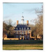 The Governor's Palace Fleece Blanket