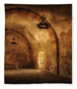 San Jose Mission Granary Fleece Blanket