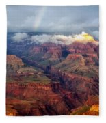 The Grand Canyon After The Storm Fleece Blanket