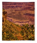 The Grand Canyon II Fleece Blanket