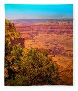 The Grand Canyon Xi Fleece Blanket