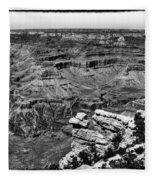 The Grand Canyon Xiii Fleece Blanket