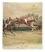 The Grand National Over The Water Fleece Blanket