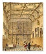 The Great Hall, Hatfield, Berkshire Fleece Blanket