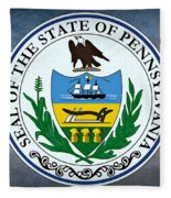 The Great Seal Of The State Of Pennsylvania  Fleece Blanket