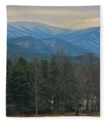 The Great Smoky Mountains From Cades Cove Fleece Blanket