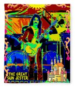 The Great Sun Jester Fleece Blanket