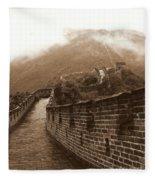 The Great Wall Fleece Blanket