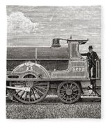 The Greater Britain Passenger Fleece Blanket