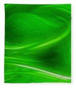 The Green Factor Fleece Blanket