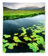 The Green Of Our Land Fleece Blanket