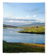 The Green River Fleece Blanket