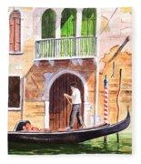 The Green Shutters - Venice Fleece Blanket