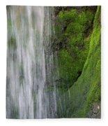 The Green Side Fleece Blanket