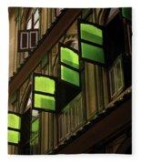The Green Windows Fleece Blanket