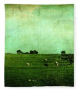 The Green Yonder Fleece Blanket