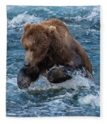 The Grizzly Plunge Fleece Blanket