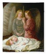 The Guardian Angels  Fleece Blanket