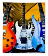 The Guitars Of Jimmy Dence - The Kingpins Fleece Blanket