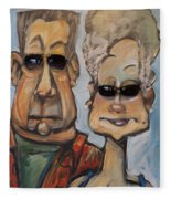 The Gundersons Take A Cruise Fleece Blanket