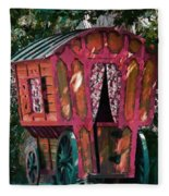 The Gypsy Caravan  Fleece Blanket