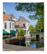 The Hague In The Netherlands Fleece Blanket