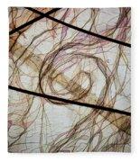 The Hair Net Fleece Blanket