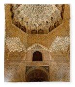 The Hall Of The Arabian Nights Fleece Blanket
