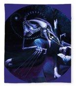 The Hallucinator Fleece Blanket