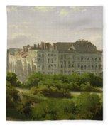 The Hamburg Kunsthalle And The Wallanlagen At The Glockengiesserwal Fleece Blanket