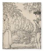 The Happy Agreement Fleece Blanket