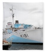 The Harbor Fleece Blanket