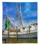 The Harbor II Fleece Blanket