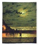 The Harbour Flare Fleece Blanket