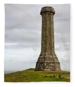 The Hardy Monument 2 Fleece Blanket