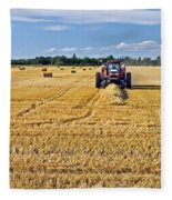 The Harvest Fleece Blanket