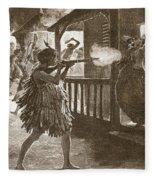 The Hauhaus Shot Or Bayoneted Them - Fleece Blanket