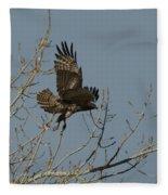 The Hawk Fleece Blanket