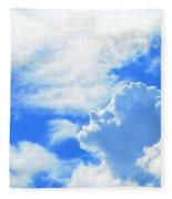 The Head In The Clouds Fleece Blanket