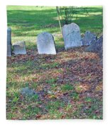 The Headstones Of Slaves Fleece Blanket