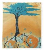 The Healing Tree Fleece Blanket