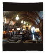 The Hearst Castle Fleece Blanket