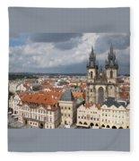 The Heart Of Old Town Fleece Blanket