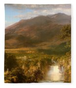 The Heart Of The Andes Fleece Blanket