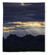 The Heavenly Light  Fleece Blanket