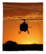 The Helicopter Fleece Blanket