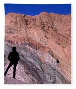 The Hill Of Seven Colours Jujuy Argentina Fleece Blanket